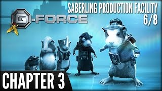 G-Force (PS3) -  Chapter 3: Saberling Production Facility (6/8)