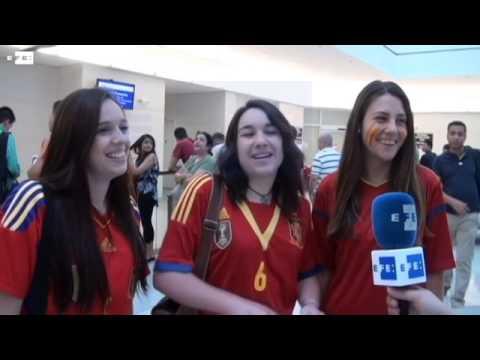 La Roja, en Washington de paso a Brasil