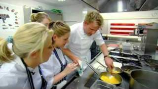 Scrambled Egg And Wild Mushrooms - Gordon Ramsay