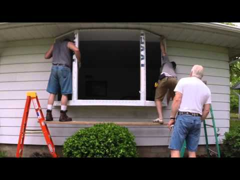 bay window installation eureka il renewal by andersen