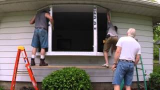 Video Bay Window Installation - Eureka, IL - Renewal by Andersen download MP3, 3GP, MP4, WEBM, AVI, FLV Agustus 2018