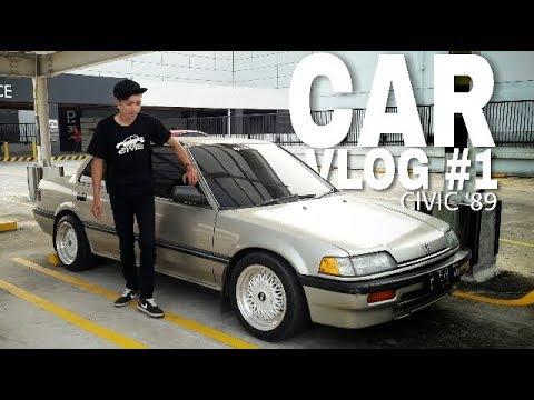 CARVLOG#1 HONDA CIVIC LX (SH4) 1989