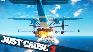 IMPOSSIBLE PLANE STUNT!! :: Just Cause 3 Stunts!