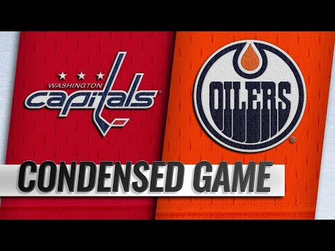 10/25/18 Condensed Game: Capitals @ Oilers