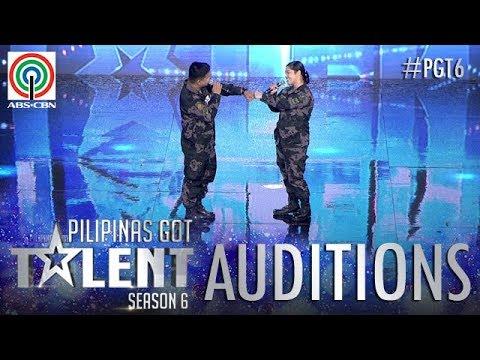 Download Youtube: Pilipinas Got Talent 2018 Auditions: PO2 Robert Abella Jr. & PO2 Jackylou De Dios Palacio - Sing