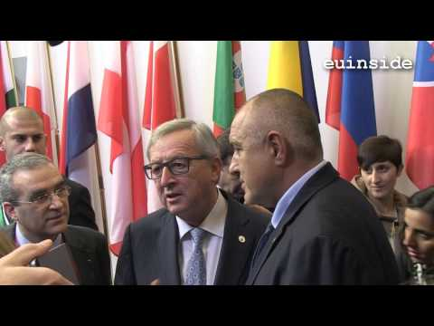 Boyko Borissov and Jean-Claude Juncker
