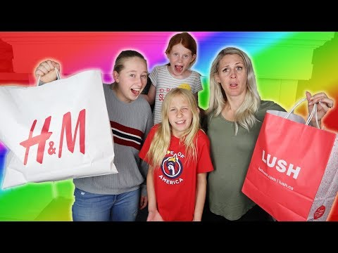 Exchange Students Speaks Only Spanish SHOPPING CHALLENGE