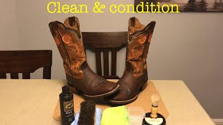 HOW TO CLEAN AND CONDITION YOUR BOOTS