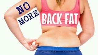 GET RID OF BACK FAT FAST | 5 Quick Easy Exercises | Cheap Tip #229