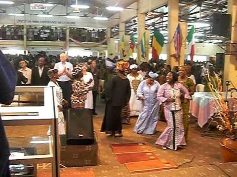 Burkina-Faso, culte chez Mamadou Karambiri