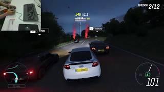 Gambar cover Forza Horizon 4 -  Logitech F310 | Audi TTS Coupe - Evening Race