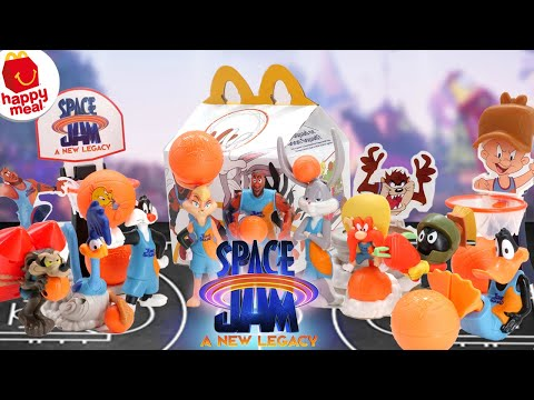 Space Jam 2 A New Legacy McDonald's Happy Meal Toys 2021