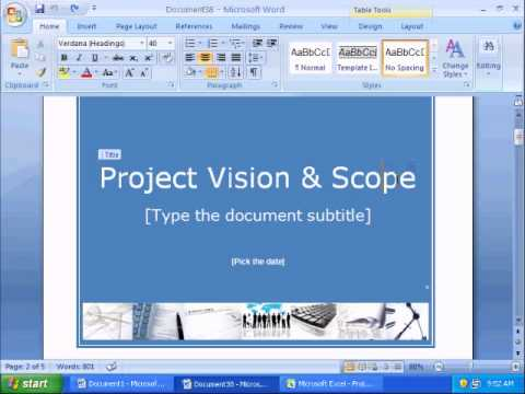 Project Vision and Scope Document - YouTube