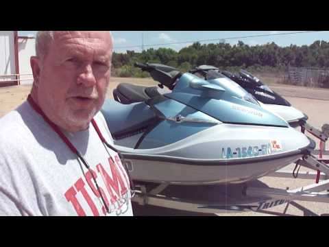 Pair Of 2006 SeaDoo GTX Unlimited Supercharged 4stroke
