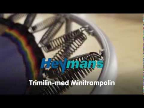 "Video: Heymans Trimilin® Trampolin ""Med"""