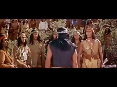 Charlss Bronson as Apache capitain Jack in drum beat 1953.