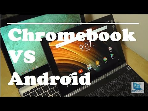 Chromebooks VS  Android Tablets: Closer Comparison