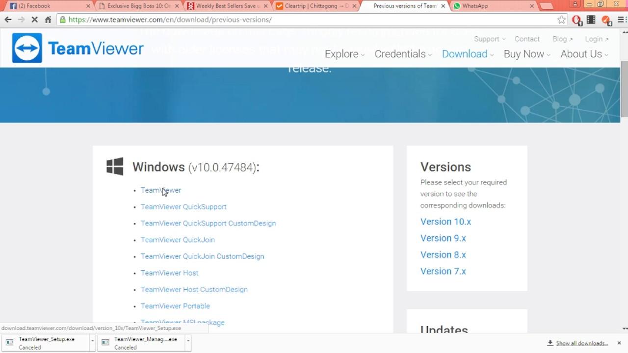 Solved: team viewer 13beta msi instead of 12 teamviewer.
