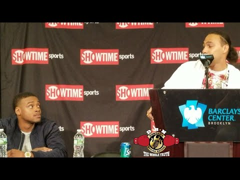 ERROL SPENCE TELLS THURMAN HE'S READY NOW AND THURMAN RESPONDS