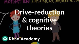 Instincts, Arousal, Needs, Drives: Drive-Reduction and Cognitive Theories   MCAT   Khan Academy