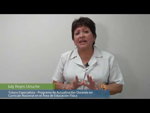 Bienvenida del tutor especialista July Reyes Urruche