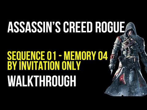 Assassin's Creed Rogue Walkthrough Sequence 1 Memory 4 - 100% Synchronization