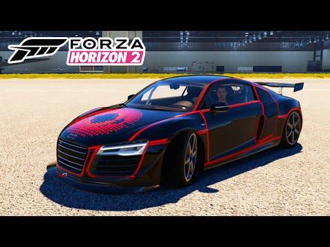 Forza Horizon 2 - TUNANDO O AUDI R8 MONSTRO! #23
