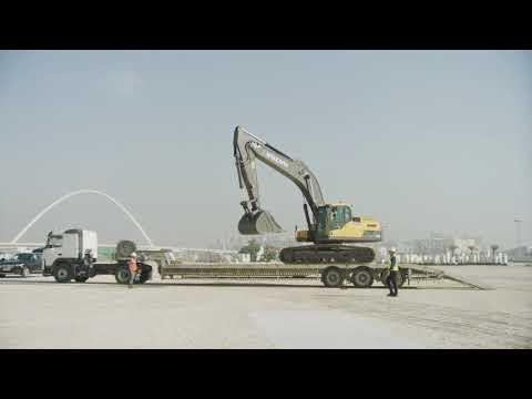 Volvo CE – Building Tomorrow – Editorial story – Lusail City, Qatar