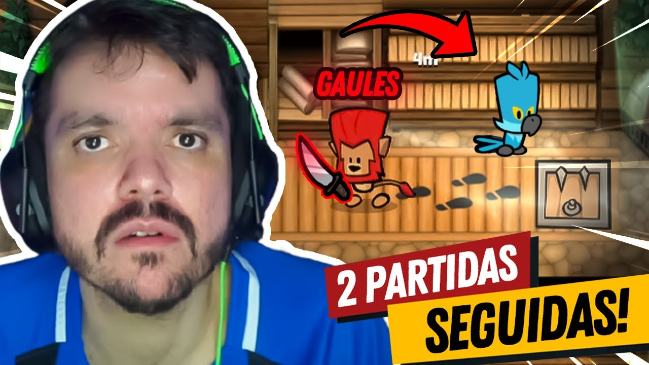 GAULES O MAIOR IMPOSTOR ESTÁ DE VOLTA E FEZ 2 SPEEDRUNS SEGUIDAS!!