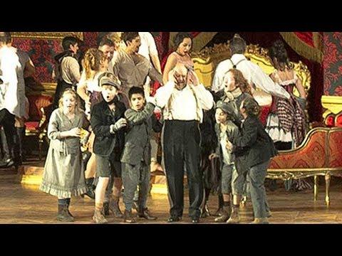 """KURT RYDL als Ochs in """"Rosenkavalier"""" Buenos Aires - Akt 3"""