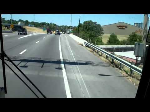 Riding on Greyhound, June 26th 2012