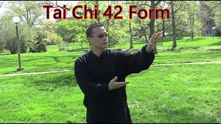 Tai Chi 42 Form performed by Master Arthur Du
