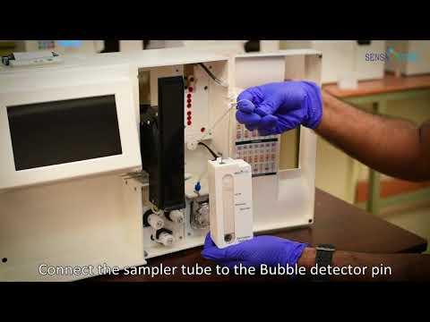 ST-200 CC Blood Gas Analyzer Installation