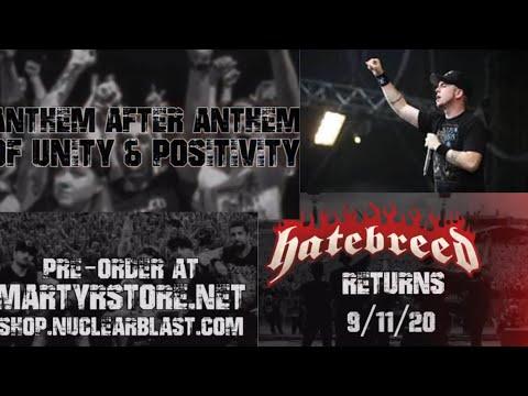 "Hatebreed tease new album ""Weight Of The False Self"" ..!"