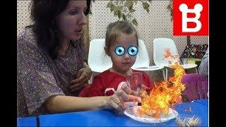 Опасный и интересный опыт для детей Игрушка своими руками