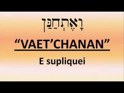 CABALAT SHABAT - PARASHÁ VAET'CHANAN - 5776