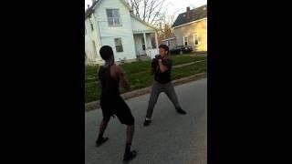Battle creek fight