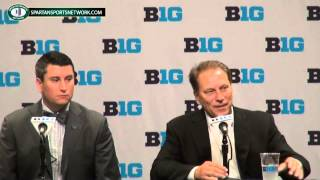 Tom Izzo press conference at Big Ten Basketball Media Day