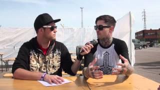 Suicide Silence interview Mitch Lucker Tuska Open Air 2012
