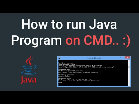 How to Run Java Program in Command Prompt in Windows 7/8/10 | 2017