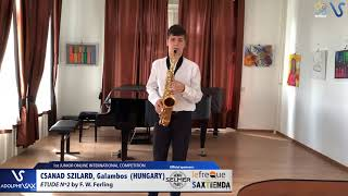 Galambos Csanad Szilard – Etude Ferling 2