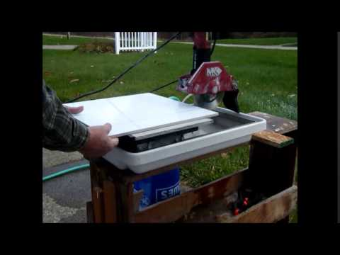Cutting 18 inch ceramic tile with a mk 370 tile saw youtube cutting 18 inch ceramic tile with a mk 370 tile saw ppazfo