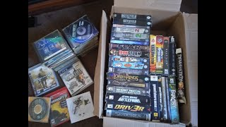 What's in the Box PC Games Collection I Still have tones of old games on DVD's  ShootEmUp