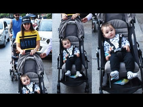 Sunny Leone Snapped With Handsome And Cute Son For The First Time