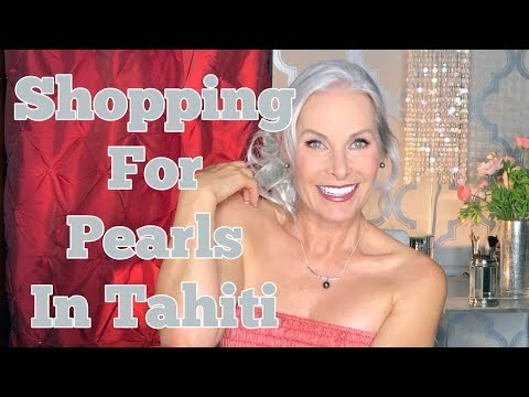 Shopping For Pearls In Tahiti