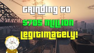 GTA Online Grinding To $705 Million Legitimately And Helping Subs