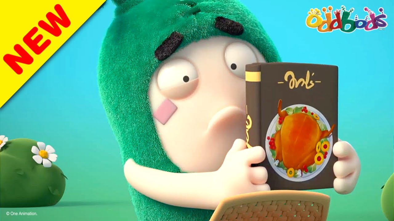 Oddbods | NEW | HUNGRY, HUNGRY ODDBODS! | Funny Cartoons For Kids