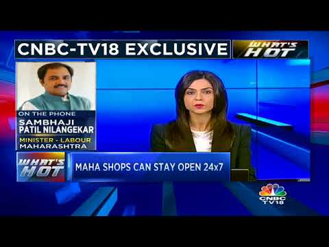 Maharashtra Labour Minister: 'Maha Shopkeepers Now Free From Inspector Raj' | CNBC TV18