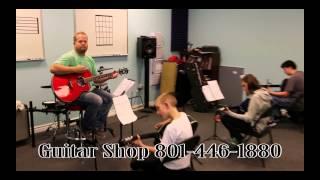 The Guitar Shop, Guitar Drums Banjo Bass Lessons, Riverton, Utah