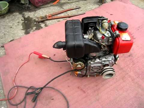 Yanmar Diesel Engine Air Cooled Youtube